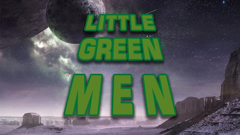 Little Green Men - Science Fiction Club - Virtual